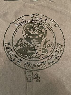 $19.99 • Buy Cobra Kai All Valley Karate Championship 84 Shirt Large
