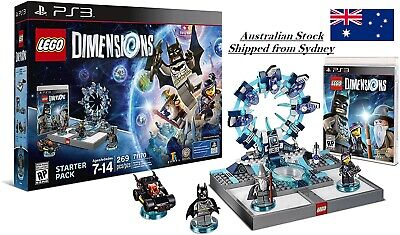 AU59.95 • Buy LEGO Dimensions Starter Pack For PlayStation 3 PS3 Batman 71170 - Retired