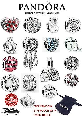 Brand New GENUINE Pandora Charms - Wide Selection Available - S925 ALE  • 15.99£