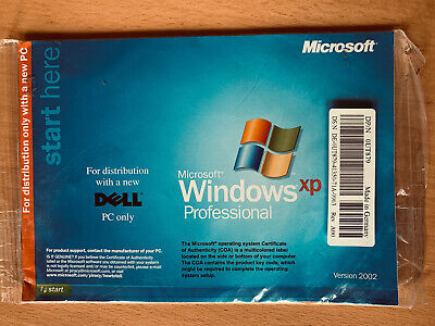 Dell Manual For Windows XP Professional Only No Cd • 5£