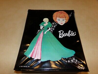 $ CDN157.18 • Buy Vintage Black 1963 Mattel Barbie Ponytail Case With Barbie Doll