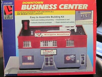 $ CDN16.41 • Buy Life Like Trains Ho Scale Downtown Business Center #1373. Nib