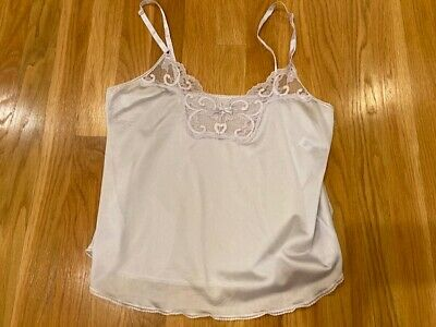$6.50 • Buy VINTAGE Silky Nylon MAIDENFORM Lingerie Camisole SWEET NOTHINGS Cami Union 34