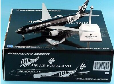 "AU189.95 • Buy Jc Wings 1:200 Air New Zealand Boeing 777-200 ""All Blacks Livery"" XX2260 Diecast"