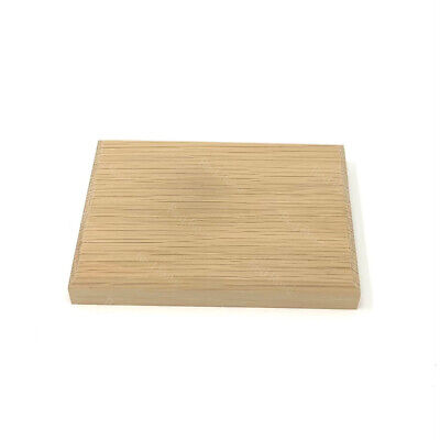 £7.99 • Buy Oak Wooden Blank Plaque Chamfered Sign Craft Decoration Sign Plinth Stand