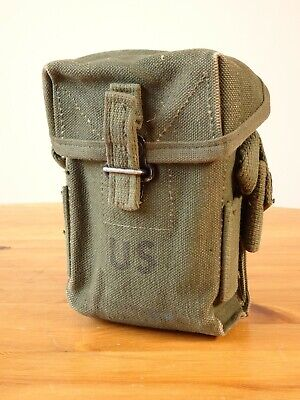 $59 • Buy Vietnam Era US Army M1956 Canvas Ammo Pouch And Combat 1st Aid Gear WW2