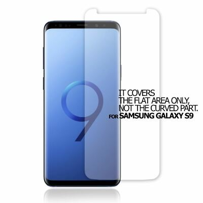 $ CDN2.06 • Buy Top Quality Clear Screen Protector Flat Film Cover Guard For Samsung Galaxy S9