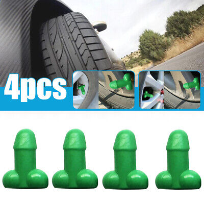 AU6.26 • Buy GLOW IN THE DARK Penis Car Truck Valve Stem Caps Prank Gag Gift Car Accessories