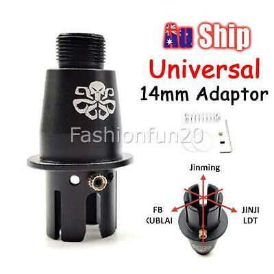 AU19.99 • Buy 14mm Threaded Metal Adaptor For Gen 8 9 J9 M4A1 Gel Blaster Toy Outer Barrel NEW