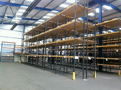 LINK 51 INDUSTRIAL COMMERCIAL PALLET RACKING FRAMES BEAMS (Brentwood Branch)  • 48£