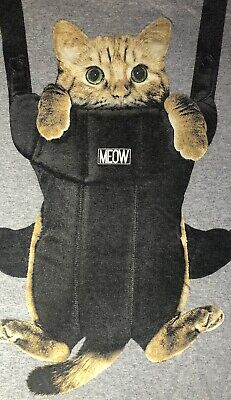 $11.95 • Buy Orange Tabby Cat In Baby Carrier Unbranded Kitten T-shirt Sz M?) See Pictures