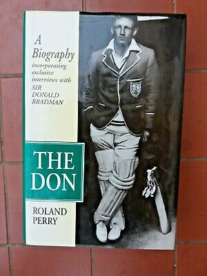 AU24.99 • Buy THE DON A Biography Book By Roland Perry Sir Donald Bradman  Cricket HC 1995