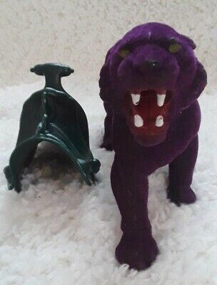 $40 • Buy 1981 Masters Of The Universe MOTU Skeletor Flocked Panther PANTHOR Action Figure