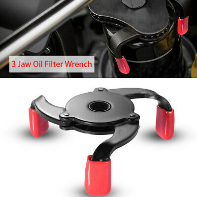 £14.60 • Buy Car Auto 3 Jaws 2 Way Oil Filter Wrench Adjustable Spanner Remover Accessories