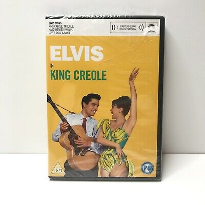 King Creole (DVD, 2002) Elvis Presley Film Movie Musical Family Music - NEW • 9.97£
