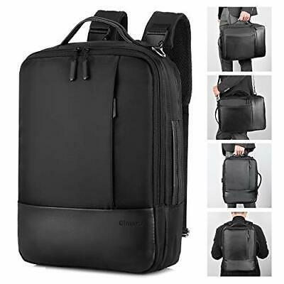 """Upgrade  Convertible Backpack For 15.6"""" Laptop Briefcase For Men With • 38.90£"""