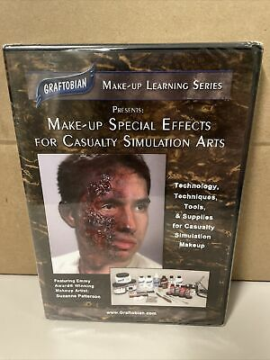 £25.17 • Buy Graftobian Make-Up Learning Series Make Up SPFX Casualty Simulation Arts DVD NEW