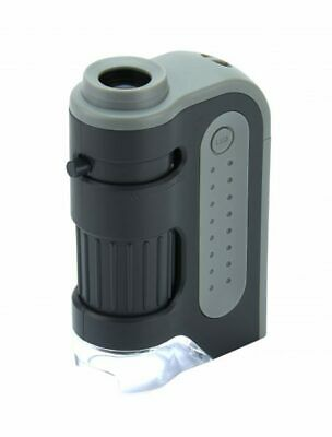 £15.99 • Buy Carson MicroBite Plus MM-300 60-120X LED POCKET MICROSCOPE - OFFICIAL UK STOCK