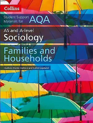 £6.95 • Buy Collins AS + A-Level Sociology: Families And Households AQA NEW (Paperback 2017)