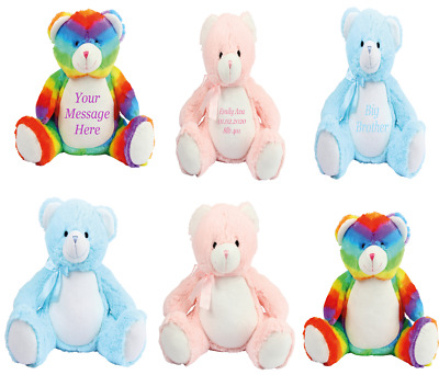 Large Personalised Plush 40cm Teddy Birthday Baby Shower Special Gift • 19.95£