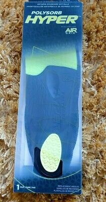 Spenco Orthotic Arch Support Insoles Polysorb Hyper Air Grid Size 7 - 8 40/42 • 11.95£
