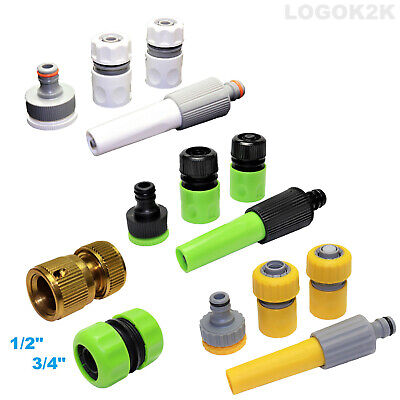 £4.99 • Buy Universal Garden Watering Hose Pipe Tap Connector Adaptor Fitting Attachment