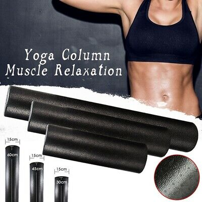 AU20.98 • Buy Yoga Block  Roller Fitness Equipment Pilates Body Building Workout Exercise;