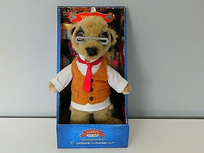 £3.99 • Buy  Compare The Market / Soft Toy Meerkat 'Yakov' With Box And Certificates