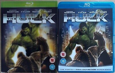 The Incredible Hulk (blu-ray, 2008) *with Very Rare 3d Linticular Slipcover* • 14.99£
