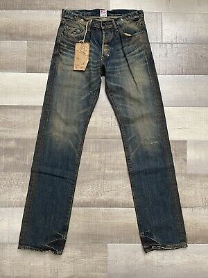 PRPS Demon Slim Straight Stone Washed Jeans Japanese Denim NWT! Size 30x34 • 85.82£