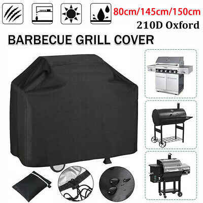 AU14.99 • Buy BBQ Cover 2/4 Burner Waterproof Outdoor Gas Charcoal Barbecue Grill Protector