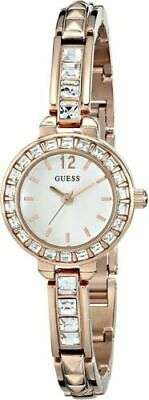 $ CDN120.53 • Buy GUESS Women's U0429L3 Elegant Rose Gold Tone Watch Bracelet NEW Never Worn