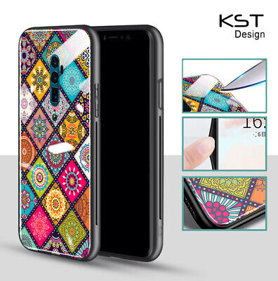 AU16.50 • Buy OPPO Reno 2Z/AX5/A57/A9 2020/Find X2 Lite/Neo Case Fashion Ethnic Glossy Cover