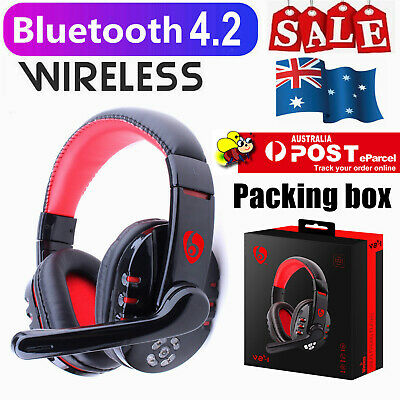AU31.99 • Buy Wireless Bluetooth Gaming Headset Surround Stereo With Mic For PC Laptop AUS