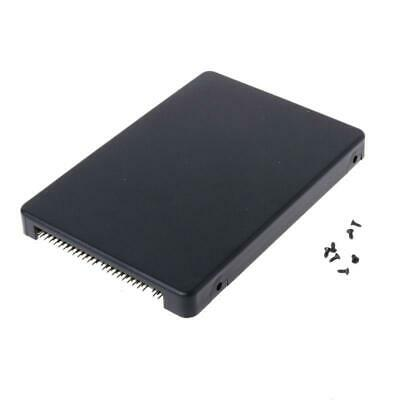 Mini SATA MSATA SSD Hard Disk To 44Pin IDE Adapter With Enclosure Case 2.5  HDD • 7.05£