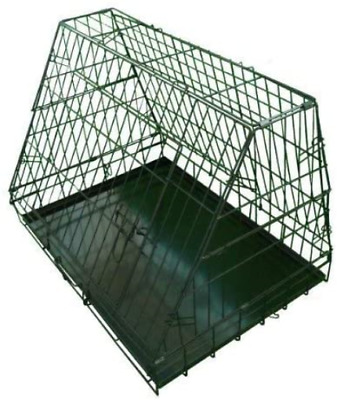 £47.54 • Buy Ellie-Bo Sloping Puppy Cage Medium 30 Inch Black Folding Dog Crate With Non-Chew