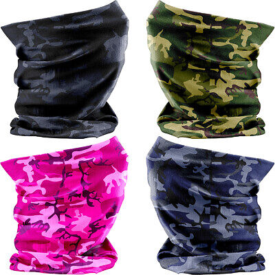 £7.12 • Buy Kids Combat Camouflage Snood Boys Girls Headscarf Neck Tuber Warmer (4 COLOURS!)