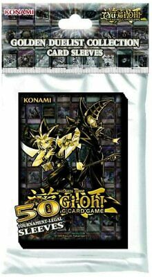 YUGIOH: Golden Duelist Card Sleeves ~ 50 Tournament Legal Sleeves  • 7.99£