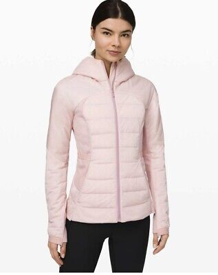 AU207.21 • Buy NWT Lululemon Down For It All Jacket Dark Chrome SOLD OUT 700 Fill Down-Size 0