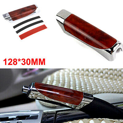 AU5 • Buy Universal Carbon Fiber Red Car Handle Hand Brake Protector Cover Car Accessories