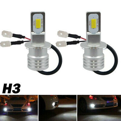 AU17.63 • Buy 2pcs H3 LED Fog Light Headlight Bulbs Car Driving Lamp High Power Kit DRL White