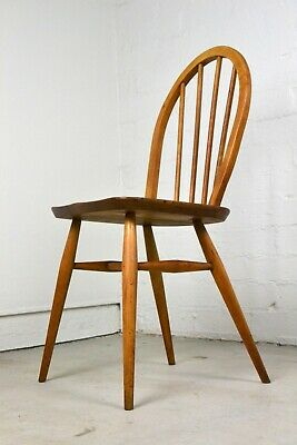 AU295 • Buy Mid Century Ercol Windsor Dining Chair Vintage Bentwood Spindle Danish