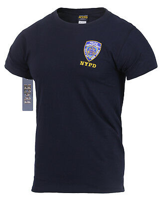 £32 • Buy Officially Licensed Embroidered NYPD T-Shirt. UK Seller. Genuine New York Police