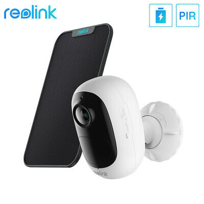 £59.99 • Buy Reolink 1080P Wireless WiFi Security Camera 2-Way Audio Argus2E With Solar Panel