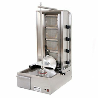 Commercial Donner Machine 4 Burner Archway Doner Kebab Machine Natural Gas/LPG • 850£
