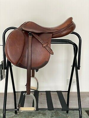 $1400 • Buy M. Toulouse Annice Close Contact Genesis Saddle With Stirrups And Leathers
