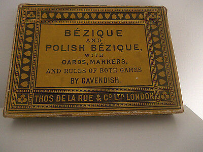 Vintage Bezique Playing Cards • 10£