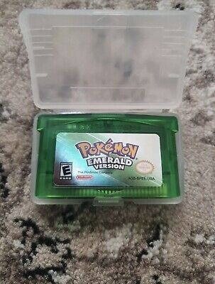 AU24.95 • Buy Pokemon Emerald Version US Game Cartridge For Gameboy Advance GBA SP