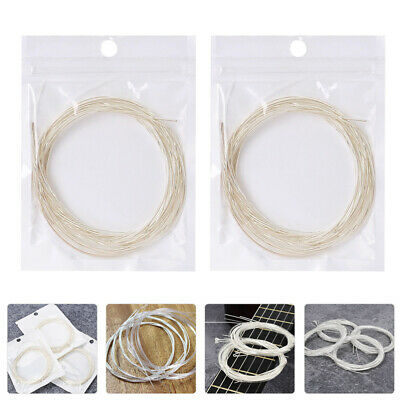 $ CDN9.47 • Buy 2 Bags Guitar Cable  Strings Accessory  Part For Woman  Guitar Man