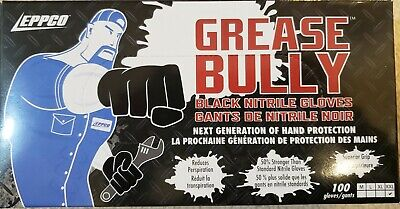 $ CDN25.44 • Buy Nitrile Gloves 6 MIL 100 Count -Powder & Latex Free Grease Bully Size XXL